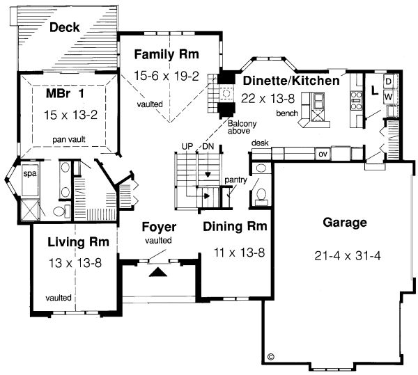 Plan No.188630 House Plans by WestHomePlanners.com