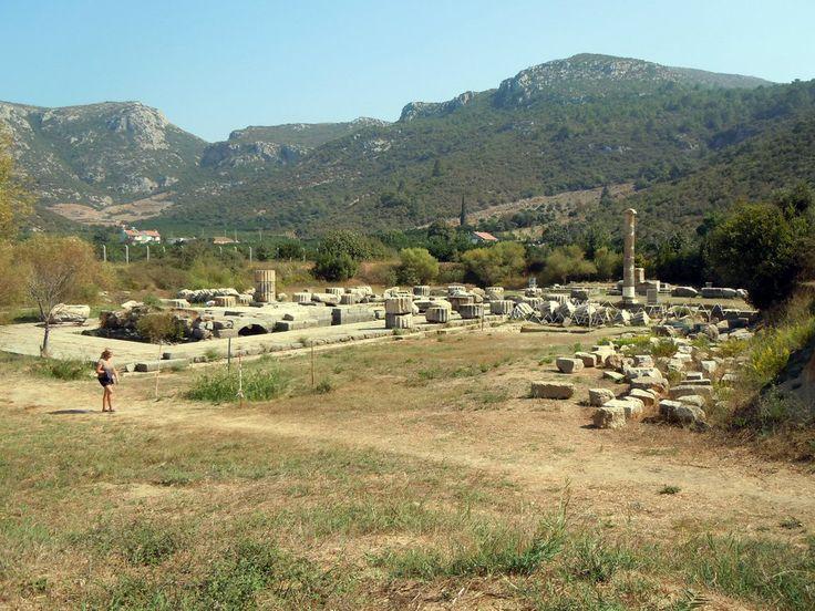 Blick auf die Tempelanlage Klaros Bilder Burg/Palast/Schloss/Ruine Antike Tempelanlage Klaros