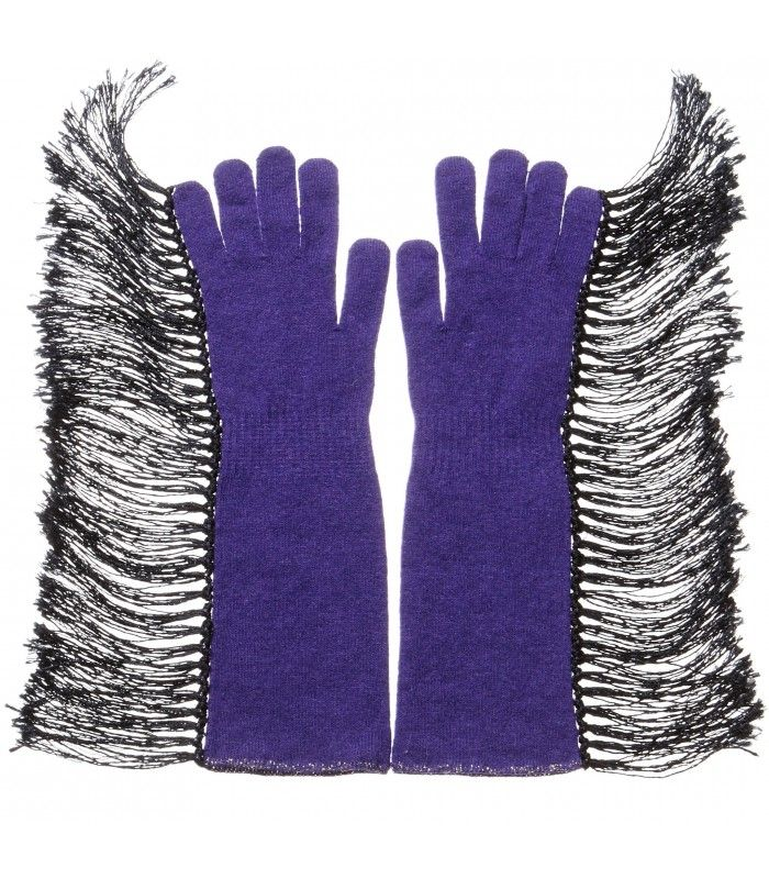 Cashmere Blend Gloves in Hippy charm packaged in Signature box