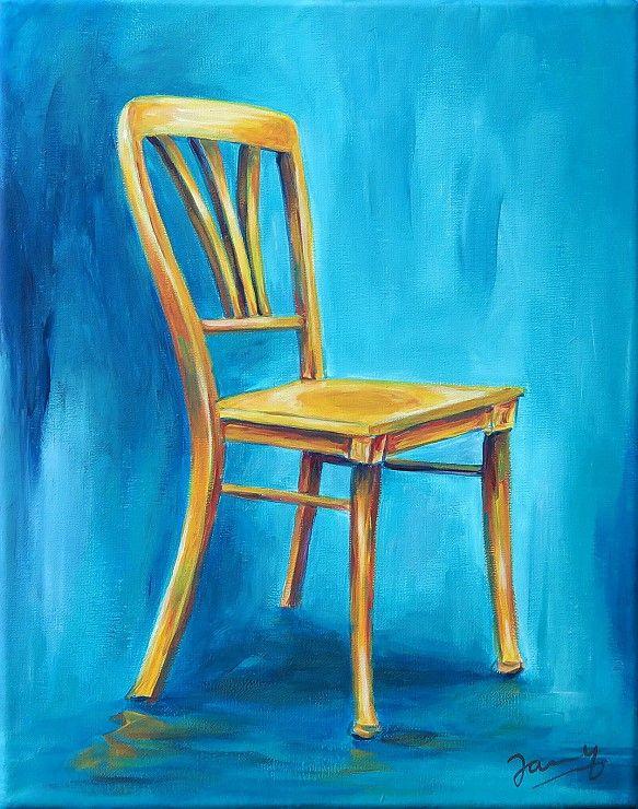 Gelber Stuhl Paintings