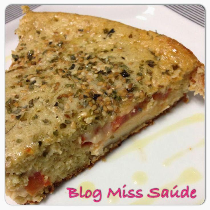 Miss Saúde : Torta de aveia salgada recheada com filé de frango grelhado - Free farinha Receita Completa: www.misssaude.com
