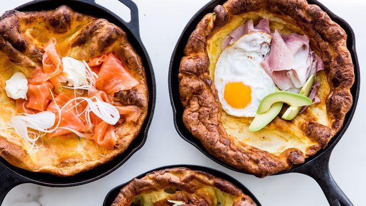 Is there any time of day when a pancake isn't welcome at the table? What about a Savory Dutch Baby that mixes up in seconds? Didn't think so.