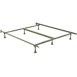 this is our bed will need to cover the metal parts at the back with
