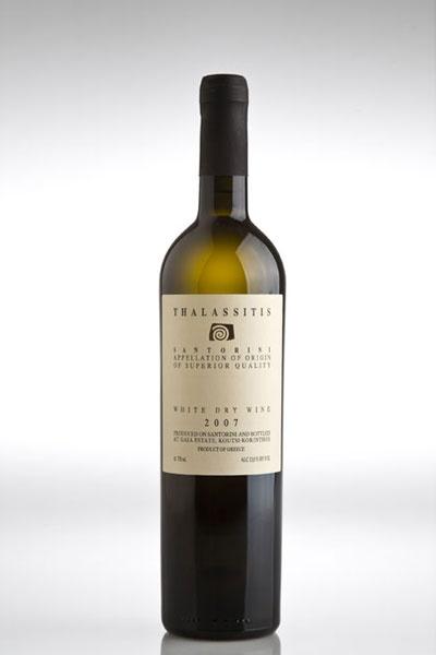Gaia Wines, Thalassitis, Santorini Dry White Wine
