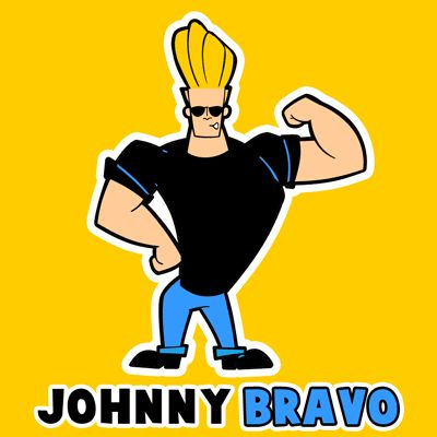 Today we will show you how to draw Johnny Bravo from Johnny Bravo. Learn how to draw this character with the following simple step to step tutorial.