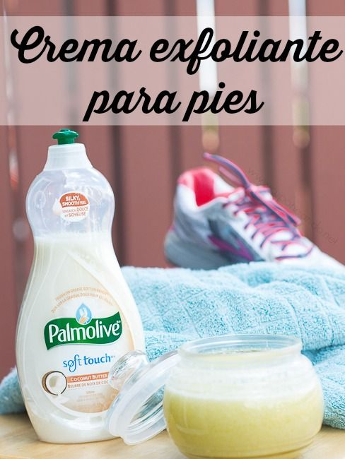 Crema Exfoliante para Pies