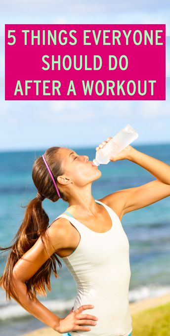 5 tips to help you recover after a workout