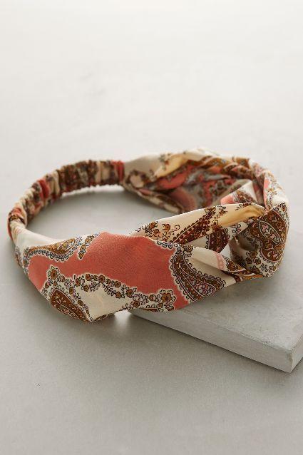 Daganzo Paisley Headband - #anthrofave