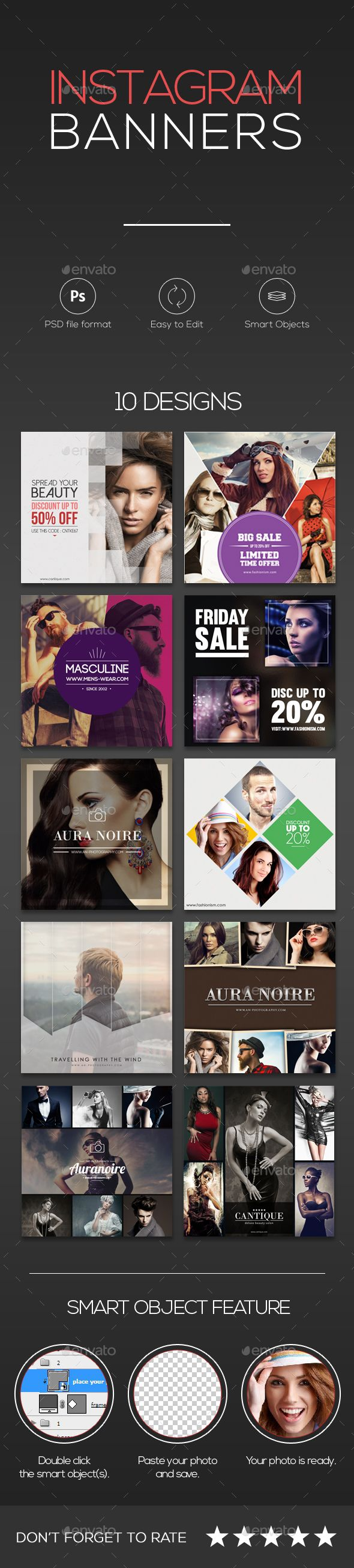 10 Instagram Banners - Miscellaneous Social Media