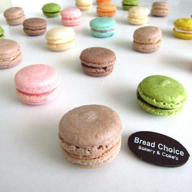 Mixed macarons by Bread Choice Bakery (Instagram @breadchoicebakery)