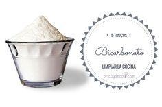 15 trucos de limpieza con bicarbonato sódico para tu cocina