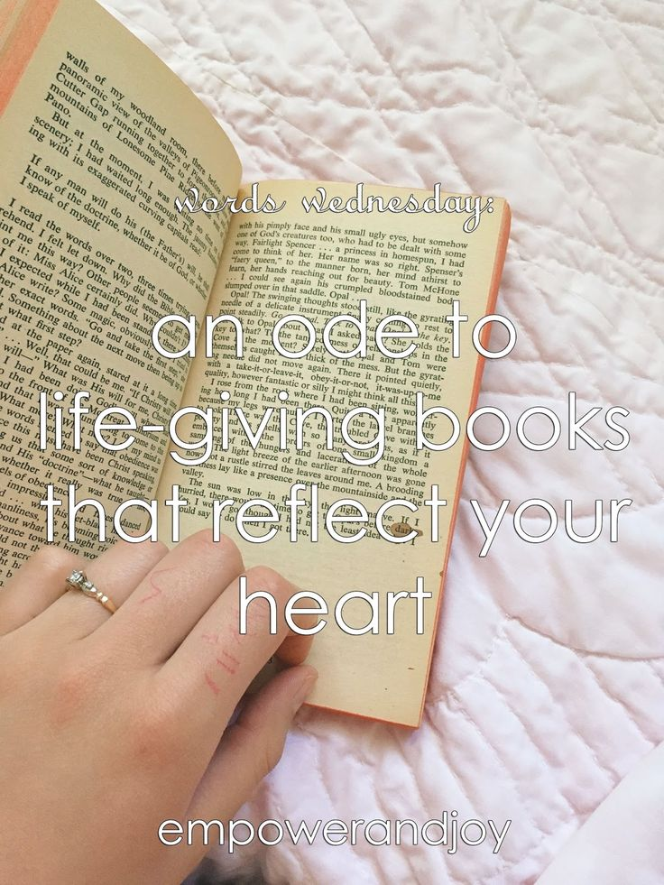 empower and joy // an ode to those life-giving books that reflect your heart
