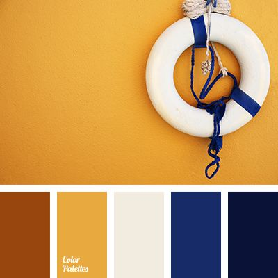 """Nevi"" color solution for design, brown, chocolate color, dark-blue, midnight blue, shades of blue palette for repair, tangerine color, the selection of colors for the interior, warm brown color."
