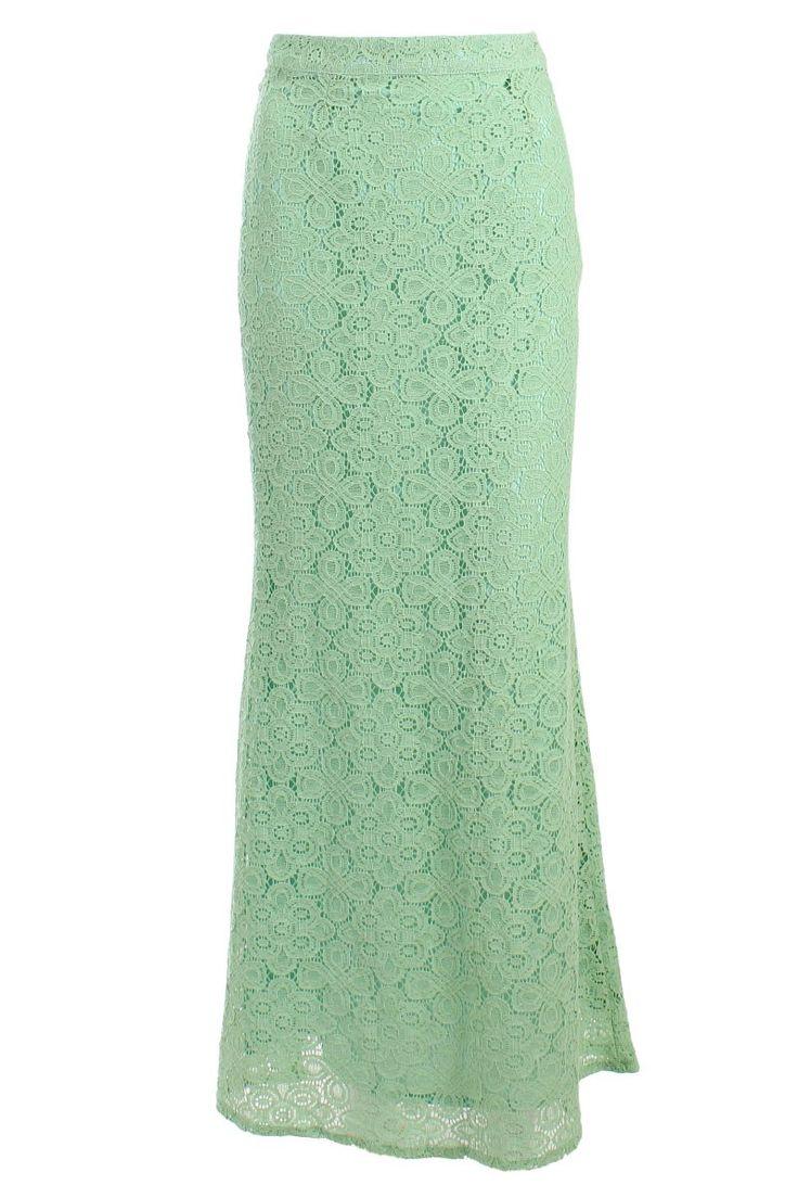 skirt mint green
