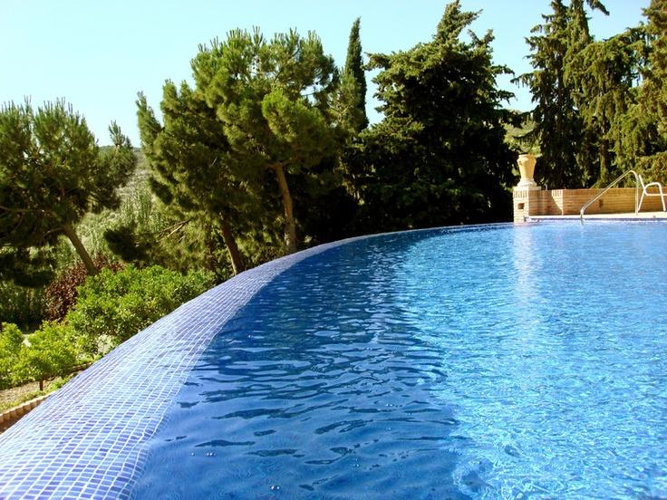 Dise o de piscina moderna en diferentes formas y colores for Piscina en catalan