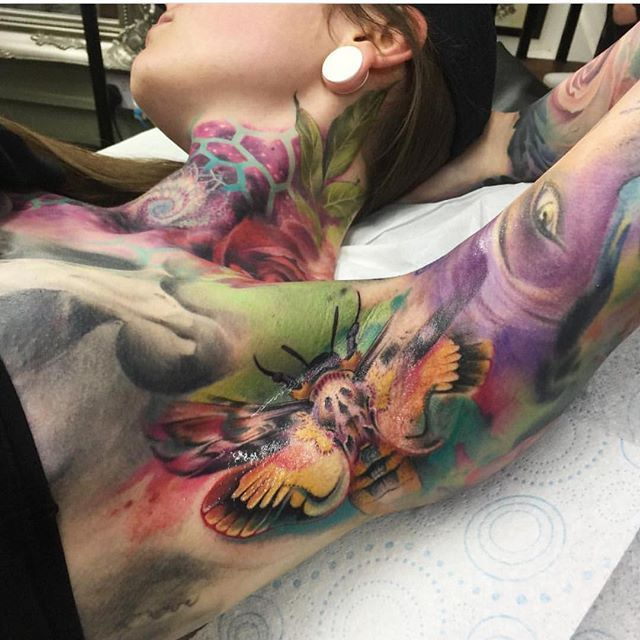 @sam_ford_tattoos that is one insane armpit. Amazing  posted by @scottmcgeachie #skinartmag #tattoorevuemag #supportgoodtattooing #support_good_tattooing #tattoos_alday #tattoosalday #sharon_alday #tattoo #tattoos #tattooed #tattooart #bodyart #tattoocommunity #tattooedcommunity #tattoolife #tattooedlife #tattooedpeople #tattoosociety #tattoolover #ink #inked #inkedup #inkedlife #inkaddict #besttattoos #tattooculture #skinart #skinartmagazine #tattoorevuemagazine