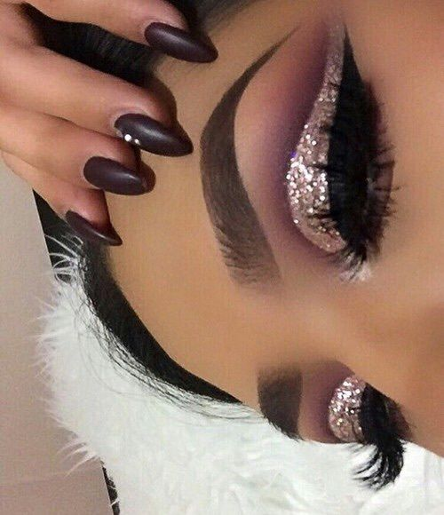Image de makeup, glitter, and eyes