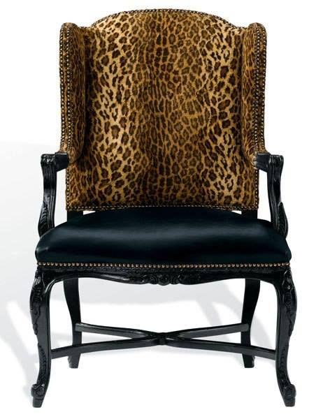 Leopard Print Chairs Home Decor