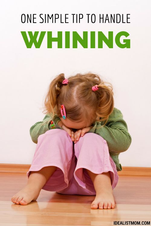 Whining kids? Here's one simple parenting tip to help fix their tone and attitude. Even better, the kids will love it! (Includes a free printable for download.) #ParentingTips