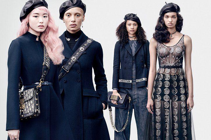 Dior fall-winter 2017 Campaign // Рекламная кампания Dior осень-зима 2017-2018