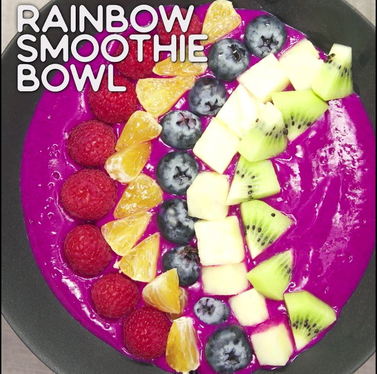 Rainbow Smoothie Bowl