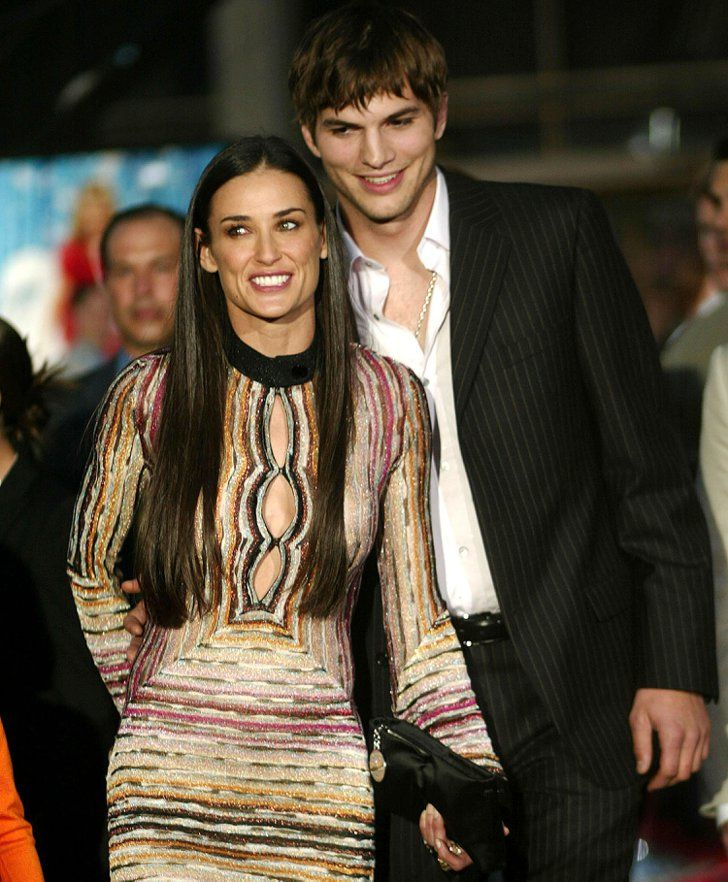 Pin for Later: Remember When These Celebrity Couples Went Public For the First Time? Demi Moore and Ashton Kutcher in 2003