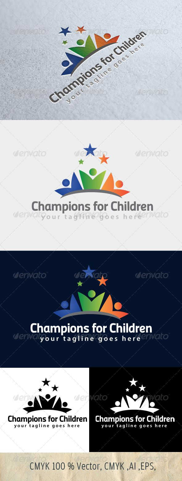Champions for Children — Photoshop PSD #children #people • Available here →  https: