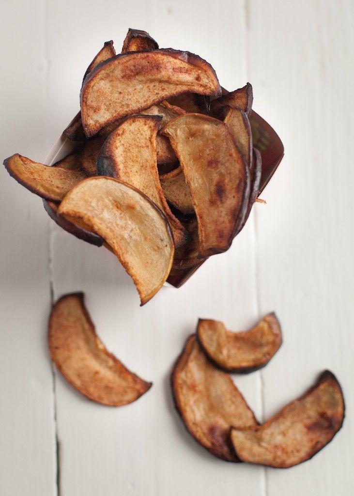 Appelchips met kaneel