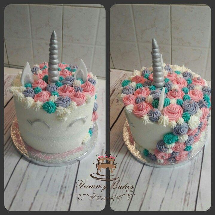 Unicorn cake all buttercream