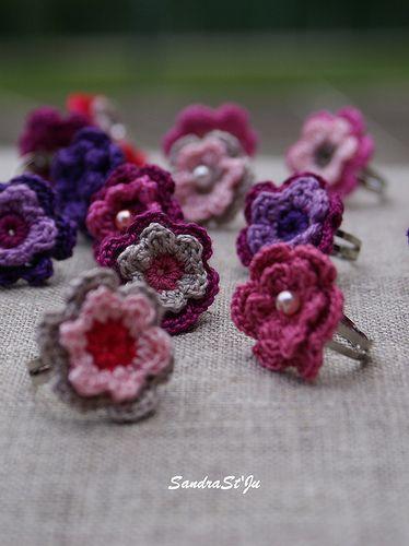 Crochet rings