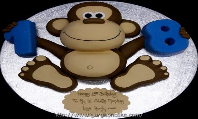 17 best ideas about monkey template on pinterest monkey for Monkey birthday cake template