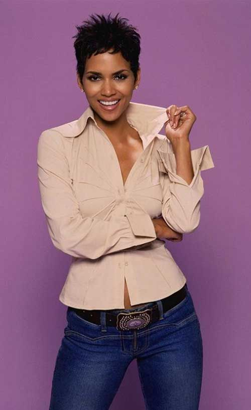 20 Best Halle Berry Pixie Cuts | http://www.short-haircut.com/20-best-halle-berry-pixie-cuts.html