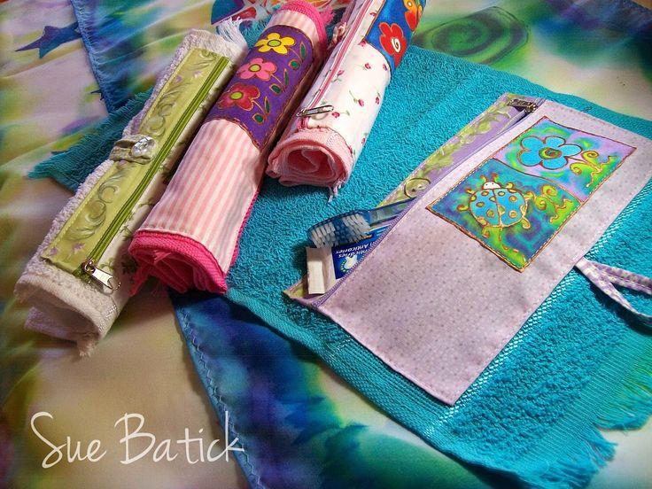 Kit de higiene bucal (toalinha necessaire)
