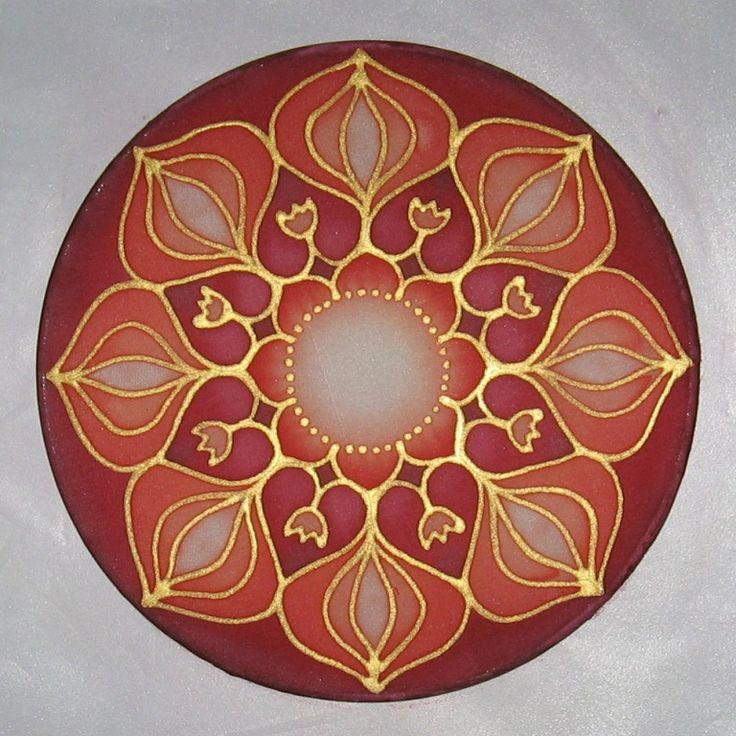 Silk mandala