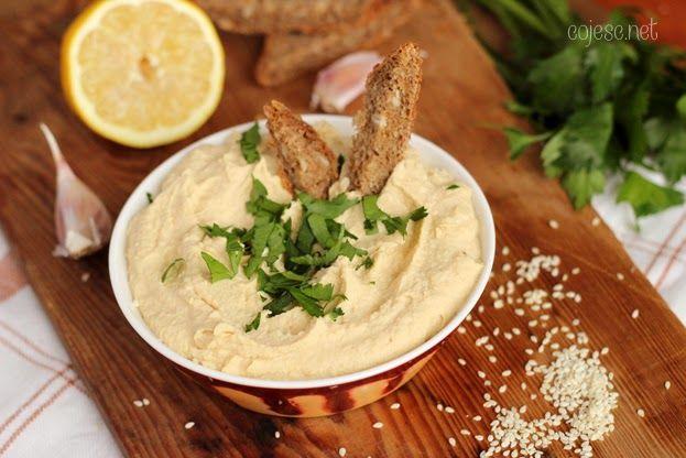 Hummus - pyszny i puszysty | Zdrowe Przepisy Pauliny Styś
