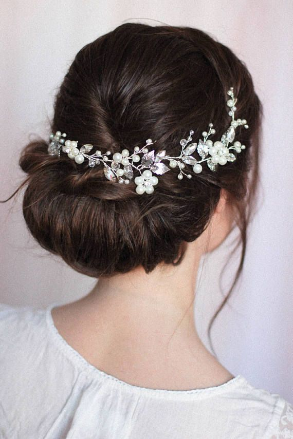 Bridal Headpiece Bridal Hair Piece Bridal Headdress Large