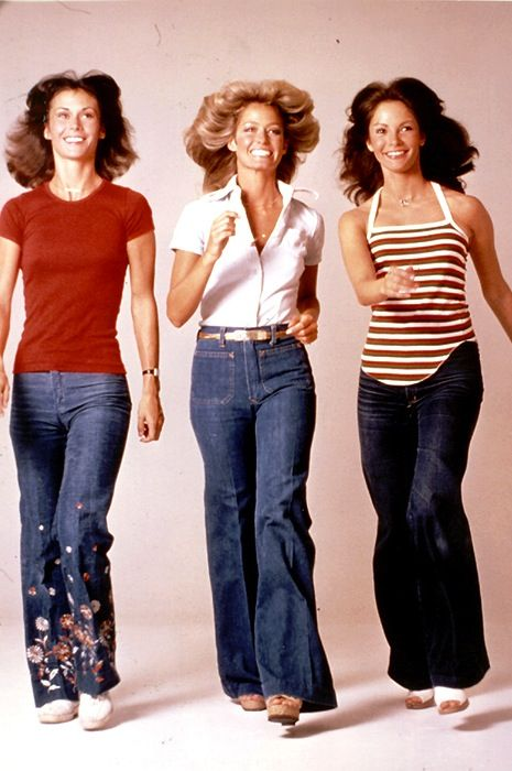 70's fashion....I remember thinking these were the most happening chicks in the world........