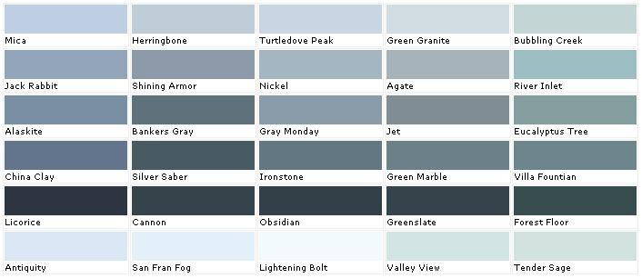 Valspar paints valspar paint colors valspar lowes for Grey color palette names