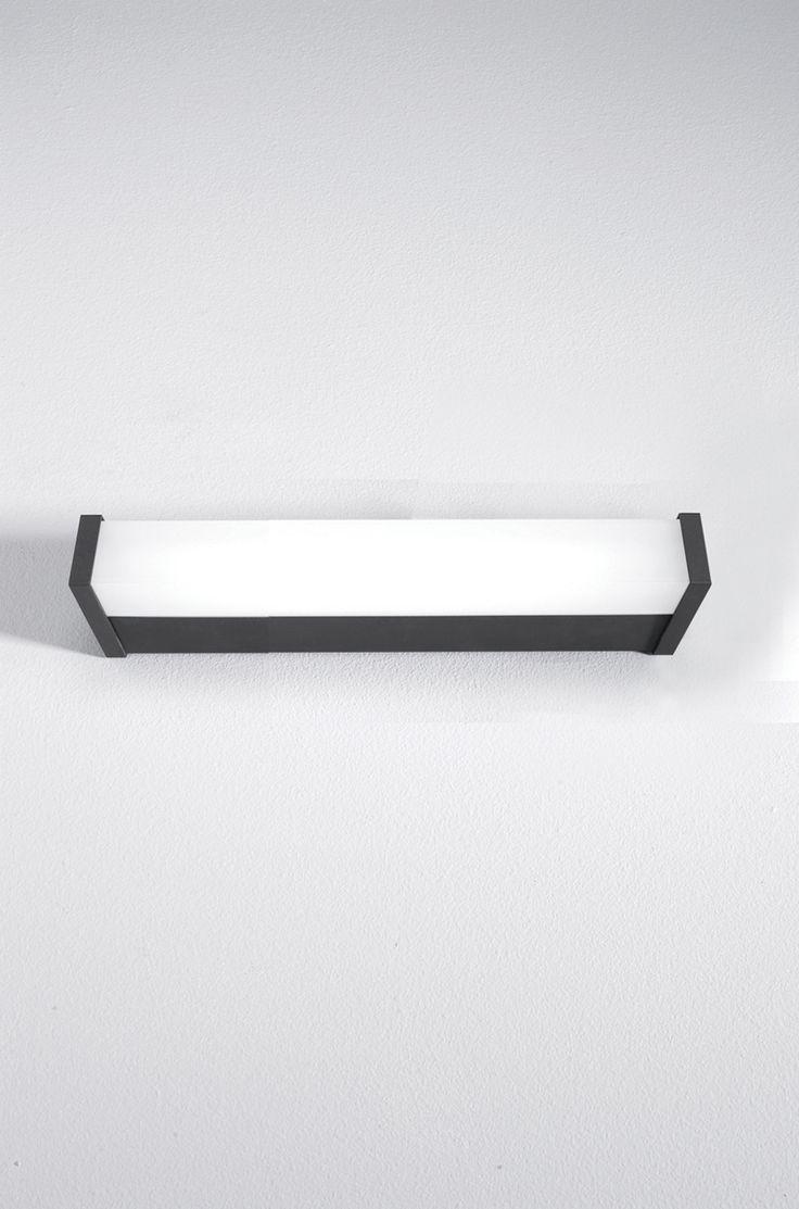 V.IP44 mirror lighting 472 x 900 x 450 mm - anthracite