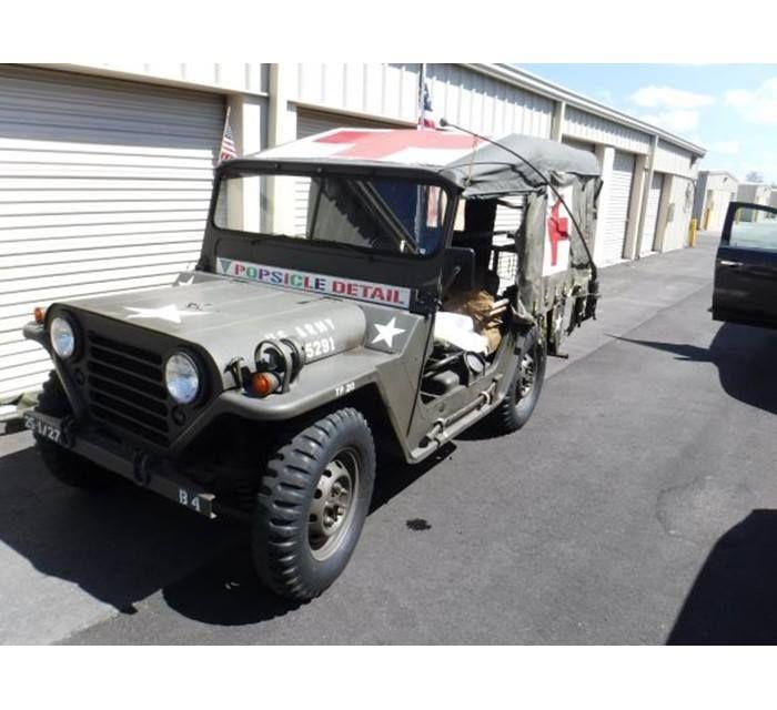 1967 Vietnam Era Mutt Medic Jeep M151 4x4 Jeep 4x4 Pittston