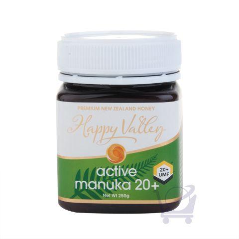 New Zealand Active/UMF 20+ Manuka Honey – Happy Valley – 250g | Shop New Zealand