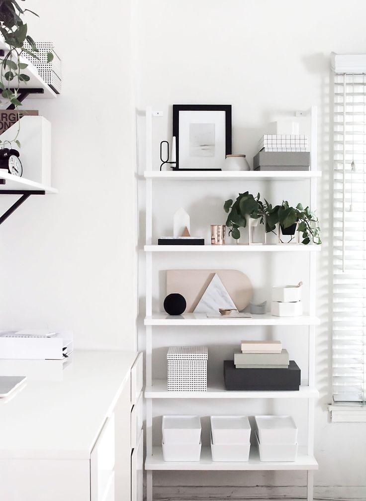 workspace shelves