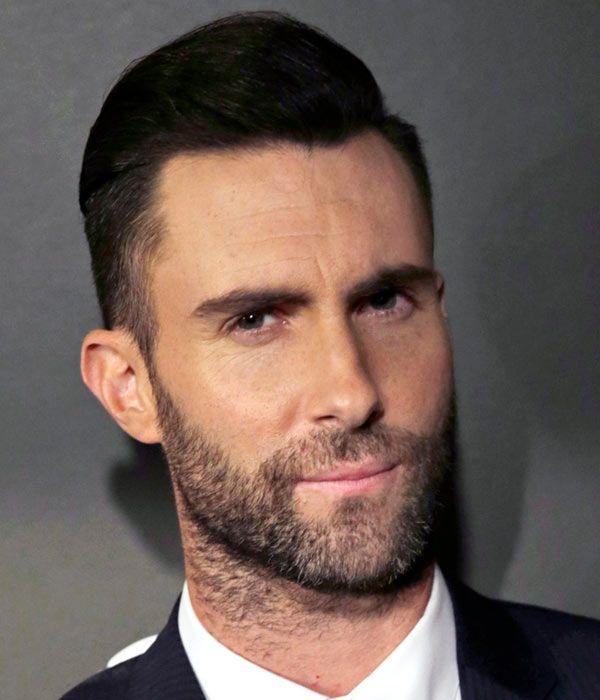 Men Wedding Hair: #Slickhair With A Part #AdamLevine