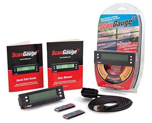 scangaugeii sgii avancé Ultra Compact véhicule Moniteur, noir: Le ScanGaugeII peut vous aider a controler les systemes les plus principaux…