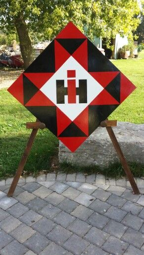 International Harvester Barn Quilt