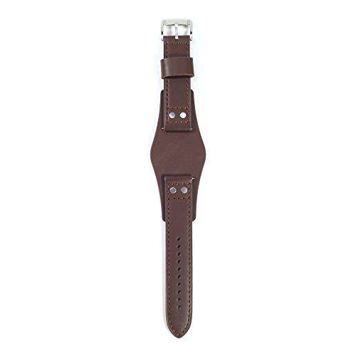 Fossil Uhrband LB-CH2565 Original Lederband CH 2565 - http://besteckkaufen.com/fossil/fossil-uhrband-lb-ch2565-original-lederband-ch
