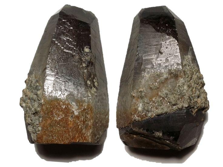 Citrine Capped Smoky Quartz, Torrington district, Gough Co.,NSW (121.1g) Mineralism (2017)