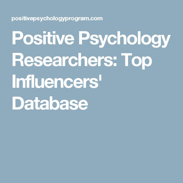 best psychology research ideas research paper positive psychology researchers top influencers database