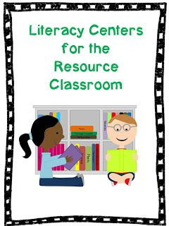 Mrs. H.'s Resource Room: A Look Inside: Resource Reading-Interventions