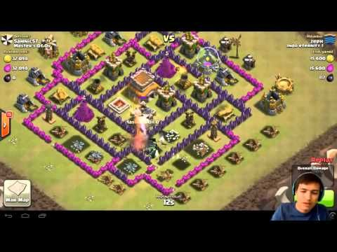 More Video Clash Of Clans http://bit.ly/video-coc Clash Of Clans Mega Guide & Farming Bot : http://bit.ly/bot-coc About Clash of Clans!  Clash of Clans is an epic combat strategy game. Build your village train your troops and battle with millions of other players online! Forge a powerful Clan with other players and crush enemy clans in clan wars.  Clash of Clans is an addictive mixture of strategic planning and competitive fast-paced combat. Raise an army of Barbarians Wizards Dragons and…